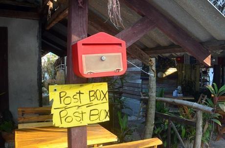rustic post office