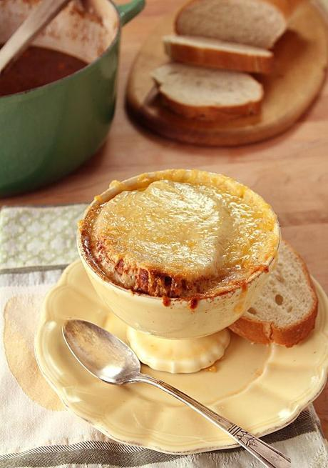 French Country Short Rib and Onion Soup