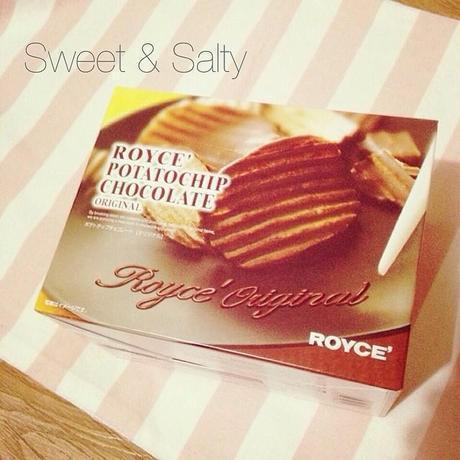Junk of the Day: Royce Potatochip Chocolate - the best combination of  sweet & salty! #royce #food #jotd #chocolate #potatochips