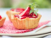 Strawberry Tarts Recipe Receta Tartaletas Fresas