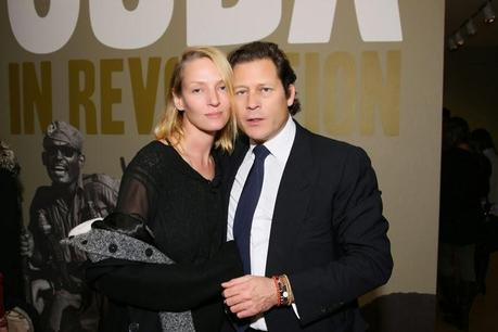 Uma Thurman and French billionaire Arpad Busson