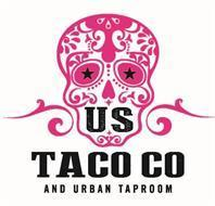 The U.S. Taco Co and Urban Taproom logo, not by Ed Hardy, I don't think