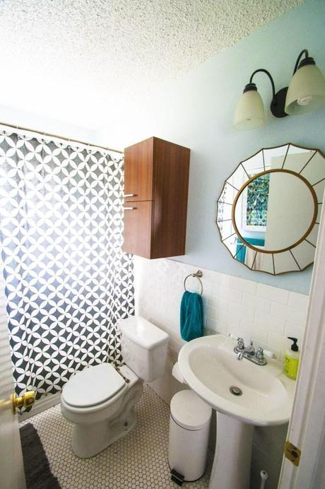 doodle house bathroom