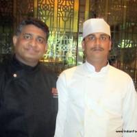 Executive Chef Girish Krishnan with Chef Musakir