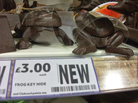 Spotted In Shops! - Blueberry Rice Cakes, Chocodates & Tesco's Bizarre Frog Key Hider!
