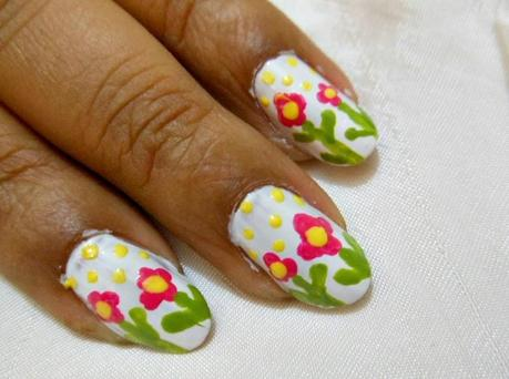 NOTD : Easter Week nails #5