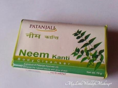 Patanjali Neem Kanti Body Cleanser Soap  Review