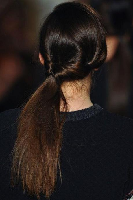 Side Topsy Ponytail Hairstyle
