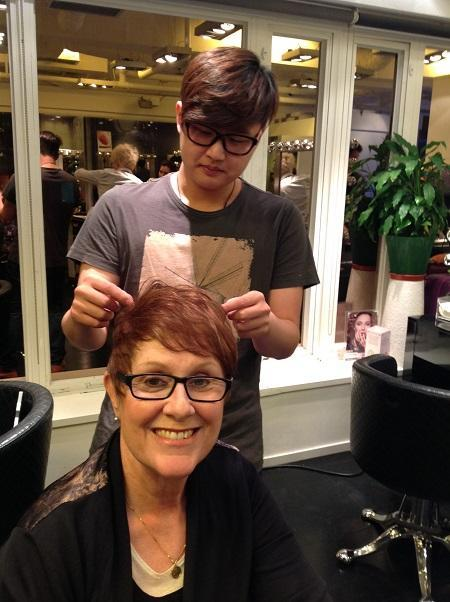 Rex Wong an innovative Hollywood Hair stylist - After