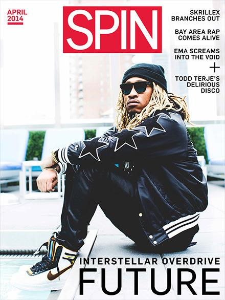 "Photo: Future Covers ""Spin"" Magazine Wearing Riccardo Tisci AF1′s!"
