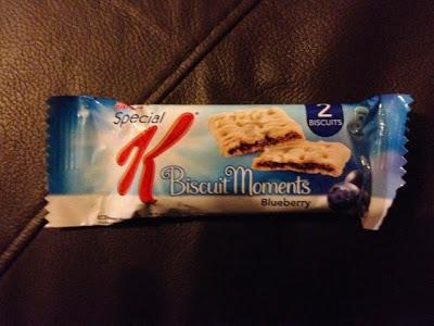 Today's Review: Special K Biscuit Moments: Blueberry
