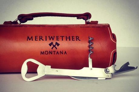 Leather Wine Bottle Carrier, Cause Holding a Bottle is For Chumps