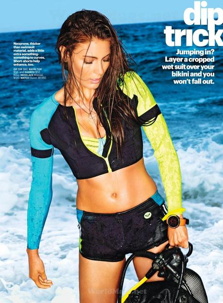 Ellie Ross For Self Magazine, US, May 2014