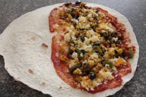 Pizza Qusadilla