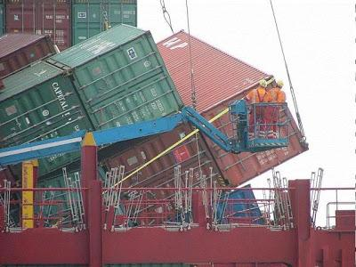 something on shipping containers... knowledge sharing