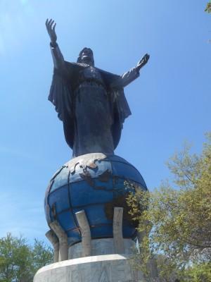 The Jesus Statue/Cristo Rei in East Timor.