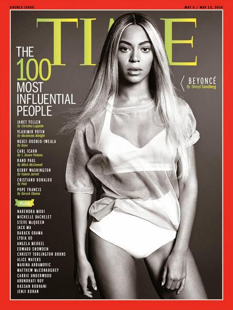 Beyonce Knowles For Time Magazine, May 2014