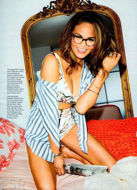 Christine Teigen For Cosmopolitan magazine, June 2014