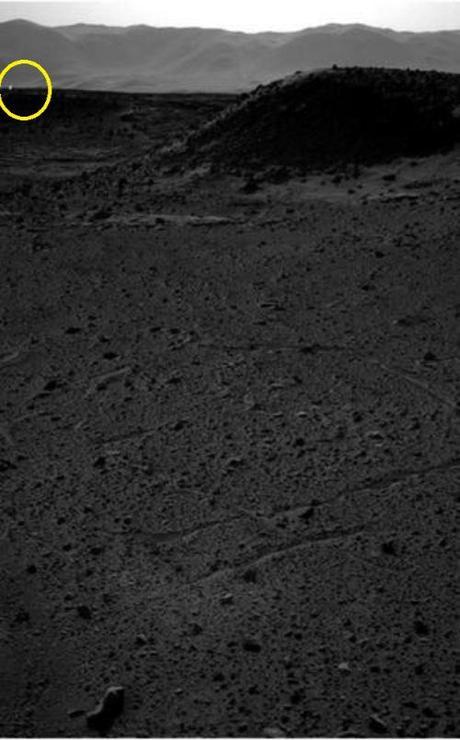 light on Mars