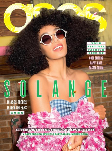 Solange Knowles For Asos Magazine, June 2014