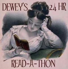 Dewey's Read-a-Thon button