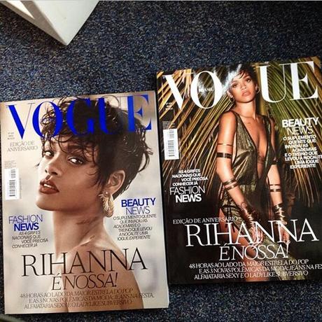 Rihanna Covers Vogue Brazil