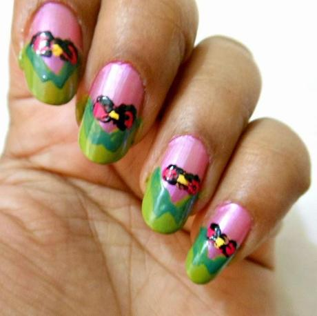 NOTD : Easter Week Nails #6