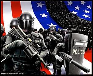 Police Chief: US Heading Towards 'Police State' (Videos)