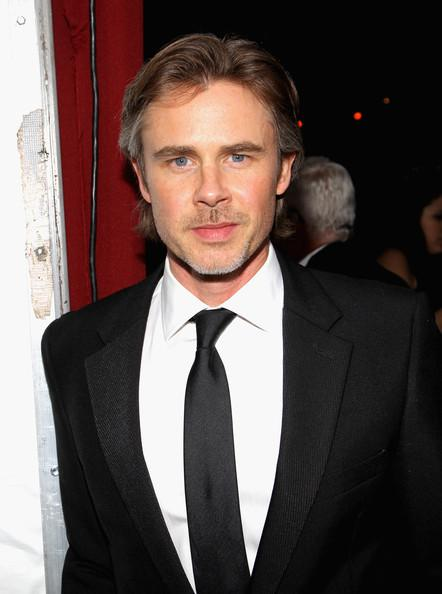 Sam Trammell Elton John AIDS Foundation Party 2014 Jonathan Leibson Getty Images