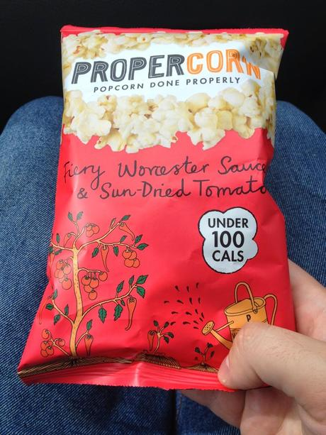 Today's Review: Propercorn: Fiery Worcester Sauce & Sun-Dried Tomato