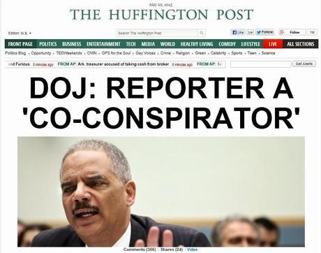 Obama Admin Nailed On 'Infringing' The Press