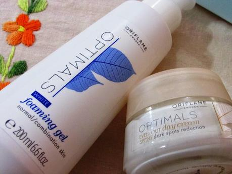 Oriflame Optimals Skin Care Range - Review