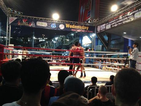Free Muay Thai at MBK