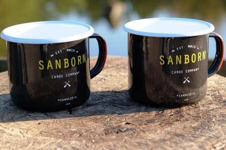 Sanborn Skout Enamel Mug