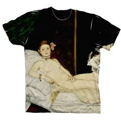 Manet's Olympia does not shock anyone today, it is even worn on t-shirts as a symbol.