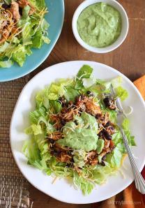 crock-pot-chicken-and-black-bean-taco-salad