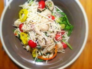 Parmasean spinach pasta salad copy