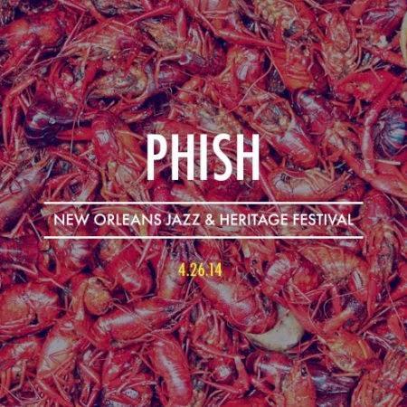 Phish 2014  SBD + torrents:  New Orleans, LA 2014/04/26