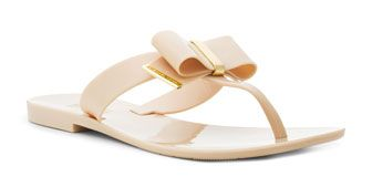 Shiny days need sandals