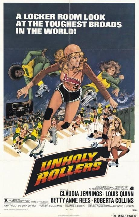 #1,350. The Unholy Rollers  (1972)