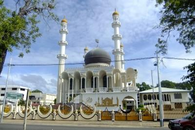 mosque in paramaribo suriname