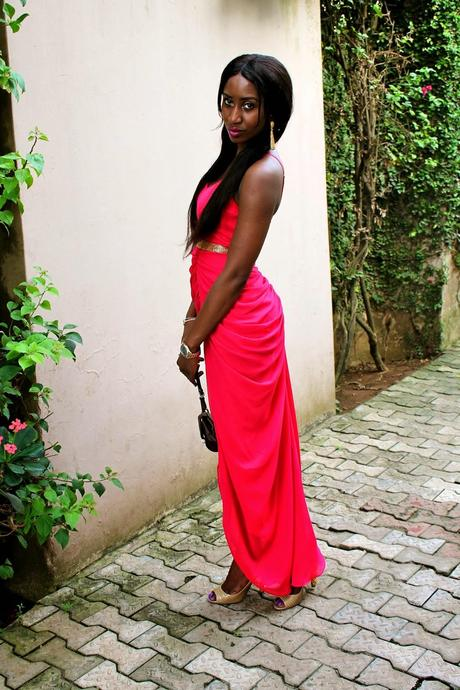 What I wore.... Iykie and Tola's wedding