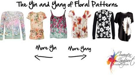 yin and yang of florals
