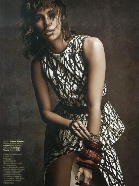 Suki Waterhouse For Vogue Magazine, Brazil, April 2014