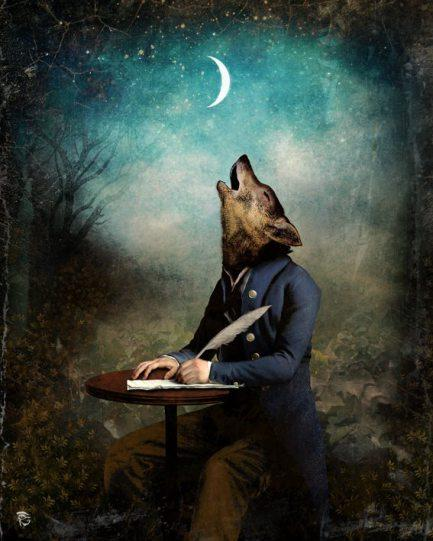 The Poet by Christian Schloe via Tutt Art