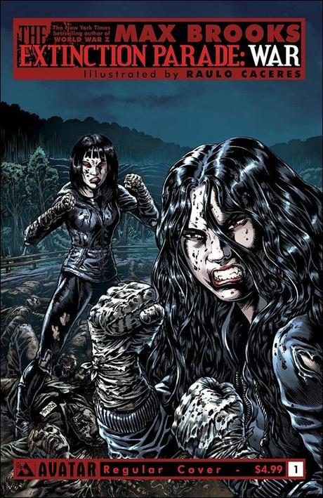 Extinction Parade: War #1 cover