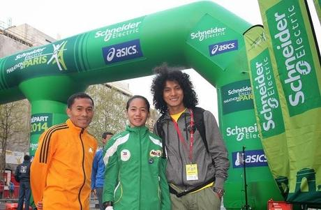 Philippine Flag Flies High in Paris Marathon