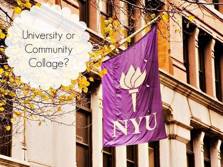 University or Community College?