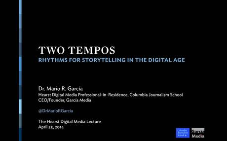 Two Tempos: Rhythms for storytelling in the digital age