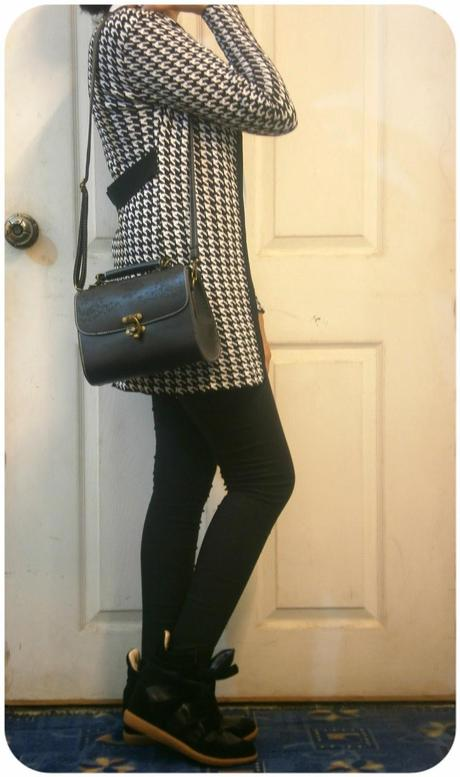 OOTD: Houndstooth